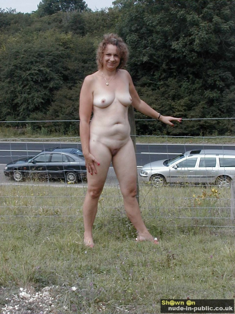 Mature ladies nude in public