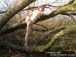 climbing trees naked