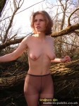 naked in the trees