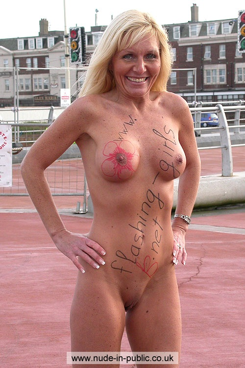 Mature naked in public wife whom